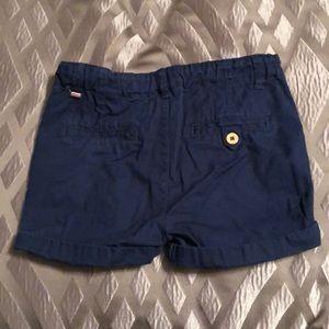 Zara Bottoms - Navy chino Zara shorts